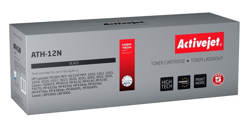 Toner ActiveJet ATH-12N, černý (Q2612A), 2300 stran