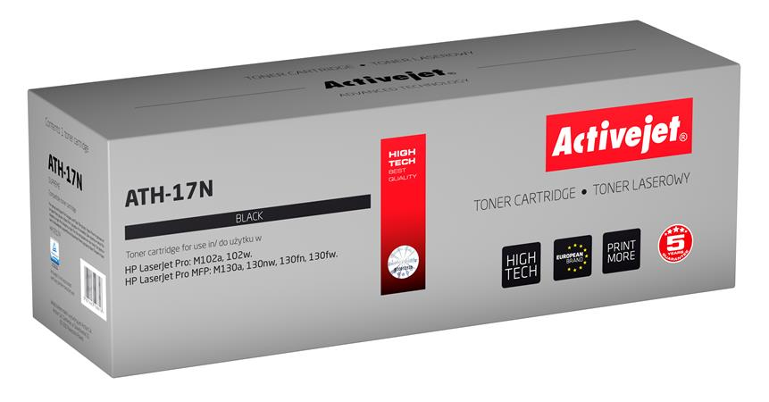 Toner ActiveJet ATH-17N, černý (CF217A), 1600 stran