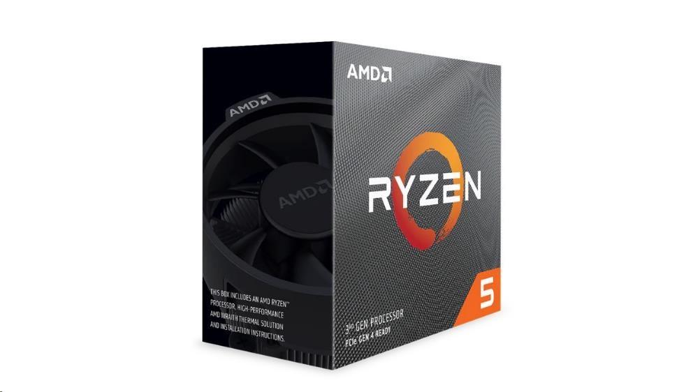 CPU AMD RYZEN 5 3600, 6-core, 3.6 GHz, Wraith Stealth Cooler