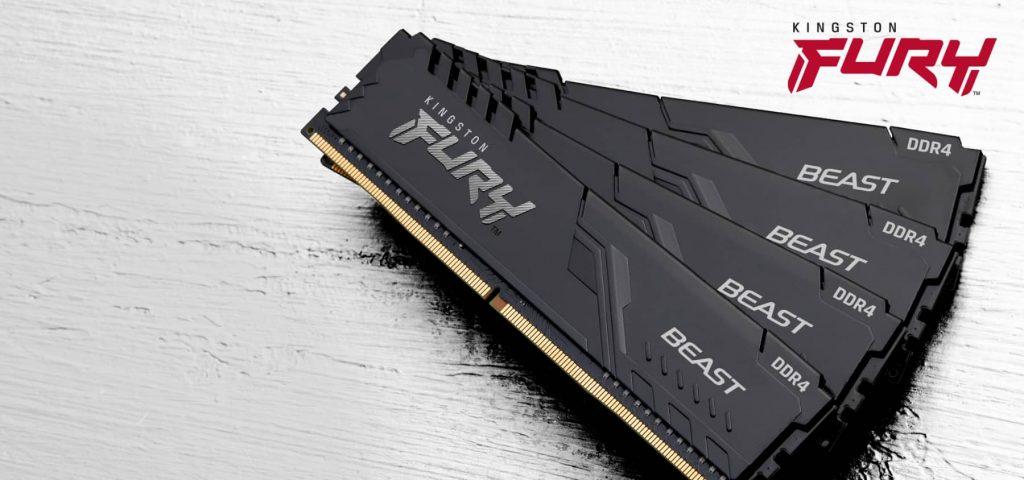 Kingston Fury Beast paměť DDR4 KF426C16BB/8
