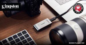 Kingston XS2000 externí přenosný disk miniaturních rozměrů