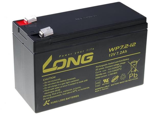 Baterie LONG, 12V, 7.2Ah