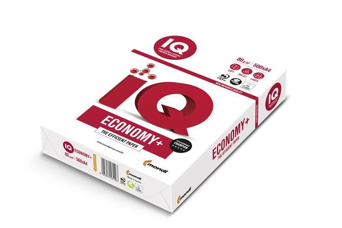Kancelářský papír IQ ECONOMY, A4
