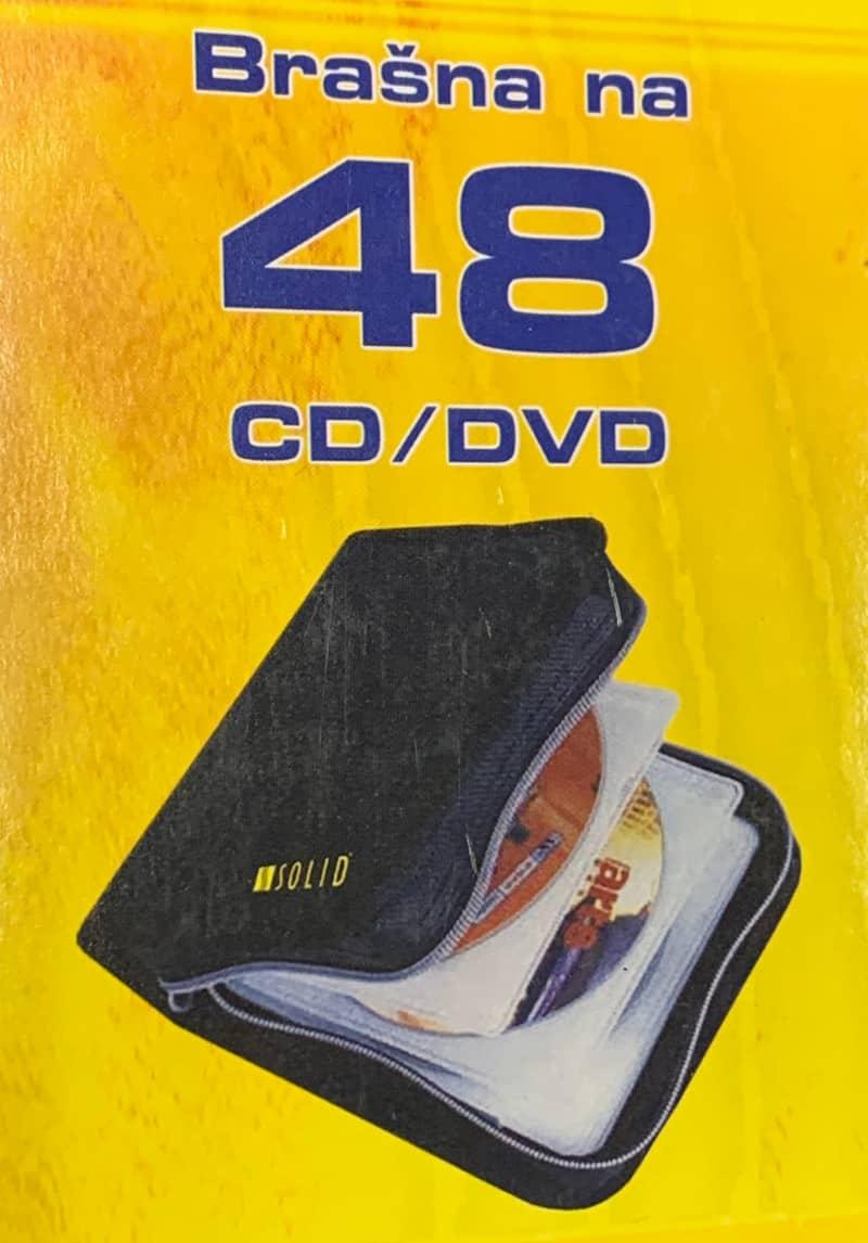 CD-48 CD box (peněženka) pro 48 ks CD (pro CD bez obalu)