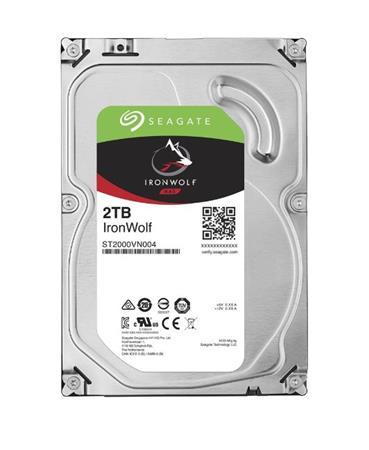 HDD Seagate IronWolf ST2000VN004, 2TB, SATA3, 5900RMP, 64MB cache