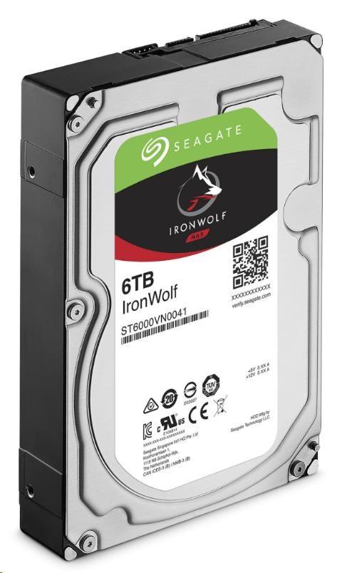 HDD Seagate IronWolf ST6000VN001, 6TB, SATA3, 5400RMP, 256MB cache