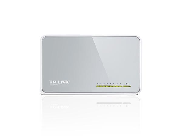 TP-Link TL-SF1008D Switch 8xTP 10 / 100Mbps