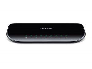 TP-Link TL-SG1008D Switch 8xTP 10 / 100 / 1000Mbps, plastový