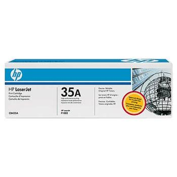 HP 35A Black LJ Toner Cart, 1 500 str, CB435A