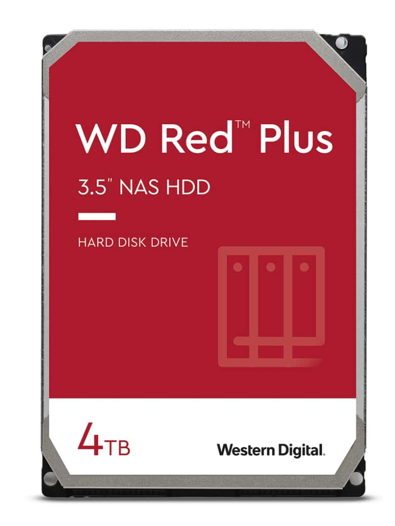 WD40EFZX WD RED PLUS, NAS Edition, 4TB