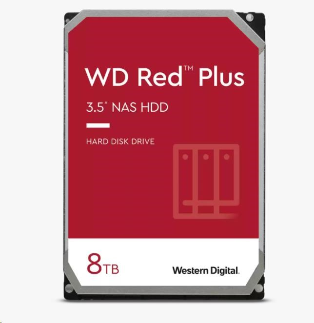 WD80EFBX WD RED PLUS NAS Edition, 8TB