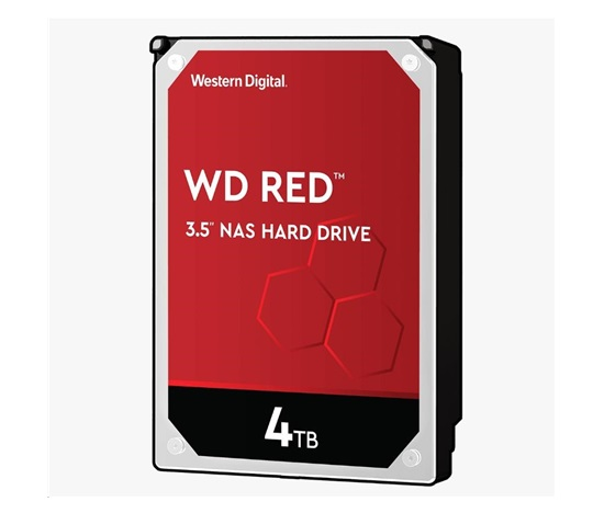 WD40EFAX WD RED, NAS Edition, 4TB, SATA/600