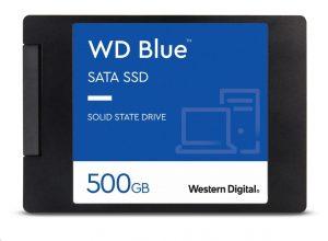 """WD BLUE SSD 500GB SATA/600, (R:560, W:530MB/s), 2.5"""""""